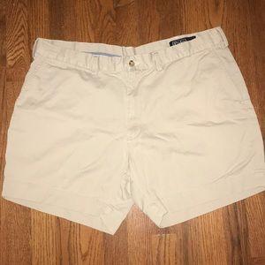 Men's Polo by Ralph Lauren Khaki Shorts
